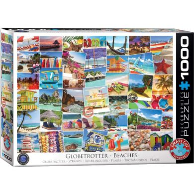 buy Eurographics 6000-0761 Beaches Globetrotter 1000-Piece Puzzle from sbcornerstore.com