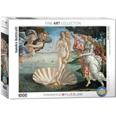 buy Eurographics 6000-5001 Birth of Venus by Botticelli 1000-Piece Puzzle from sbcornerstore.com