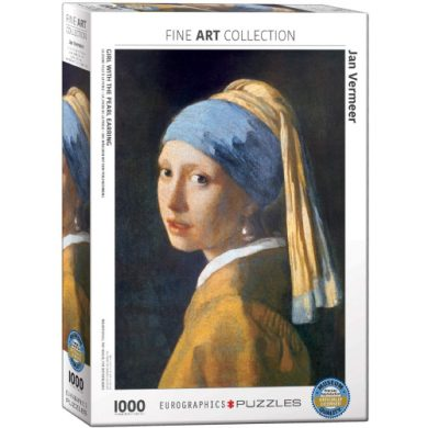 buy Eurographics 6000-5158 Girl with A Pearl Earring by Vermeer 1000-Piece Puzzle from sbcornerstore.com