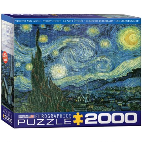 buy Eurographics 8220-1204 Starry Night by Vincent Van Gogh Puzzle (2000-Piece) from sbcornerstore.com
