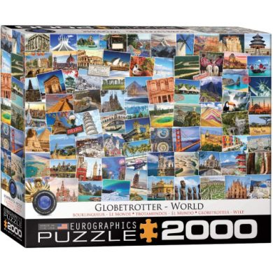 buy Eurographics 8220-5480 World Globetrotter 2000-Piece Puzzle from sbcornerstore.com
