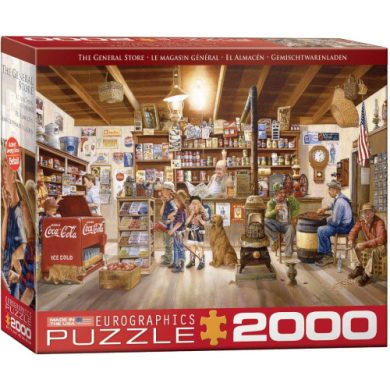 buy Eurographics 8220-5481 The General Store by Les Ray 2000Piece Puzzle from sbcornerstore.com