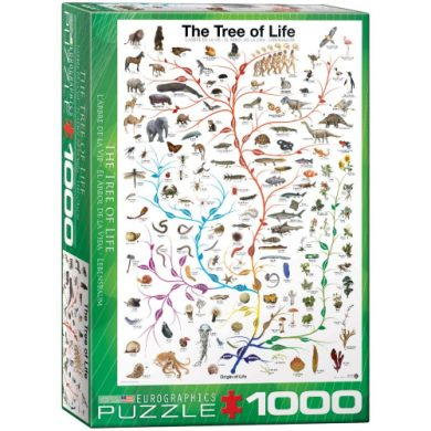 buy Eurographics Evolution The Tree of Life 1000-Piece Puzzle from sbcornerstore.com